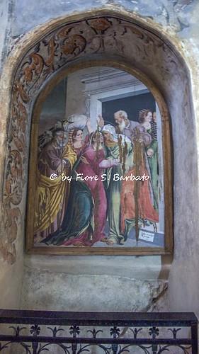 Cerchiara di Calabria (CS), 2009, Il Santuario di Santa Maria delle Armi e le grotte del Monte Sellaro.