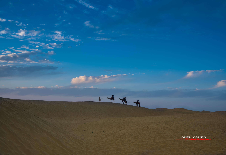 Desert Walk, Jaisalmer