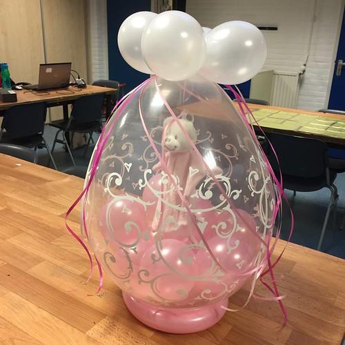 Inpakballon Kadoballon Geboorte Baby