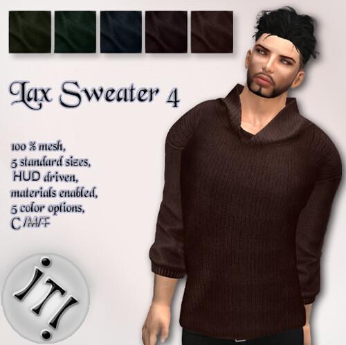 !IT! - Lax Sweater 4 Image