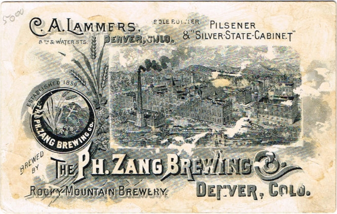 Silver-State-Cabinet-Beer-Trade-Cards-Ph-Zang-Brewing-Company