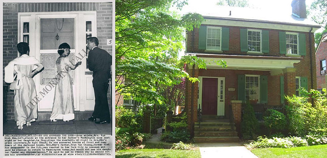 Nhà số 5609 32nd Street NW, Washington D.C. của ông bà Trần Văn Chương, bố mẹ bà Nhu.