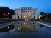 Villa Torlonia nell'ora blu