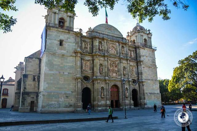 Oaxaca Church in the Zocalo