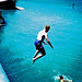 Leap into the blue by Stephen Dowling