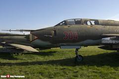 304 - N17532368304 - Polish Air Force - Sukhoi SU-22 UM-3K - Polish Aviation Musuem - Krakow, Poland - 151010 - Steven Gray - IMG_0315