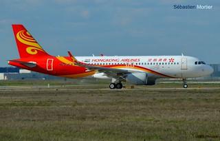 A.320-SHK HONG KONG AIRLINES F-WWDH 7035 TO B-LPP 08 03 16 TLS
