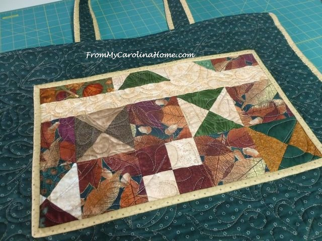 Quilted Travel Bag ~ From My Carolina Home