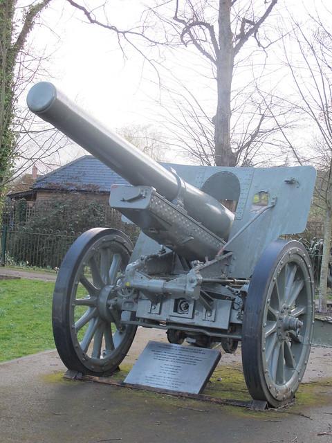 Japanese WWII Artillery Gun, Memorial Park Romsey