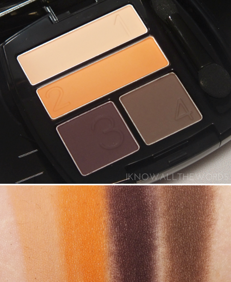 Avon Matte Eyeshadow Quads Desert Sunset Quad