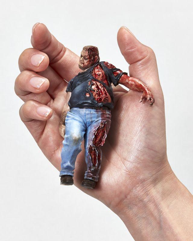 濃濃B級電影風!1/16 比例殭屍模型系列《地獄殭屍默示錄》Series No.02:卡車司機