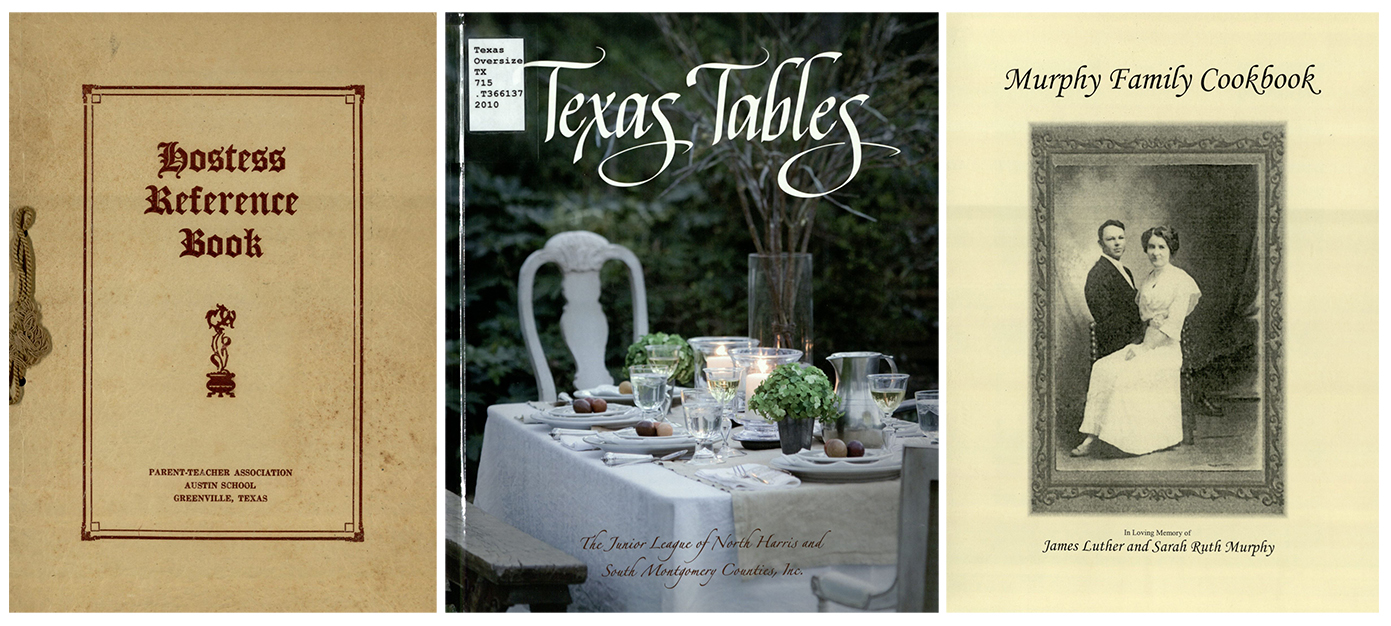 Cookbooks at The Texas Collection, Baylor University