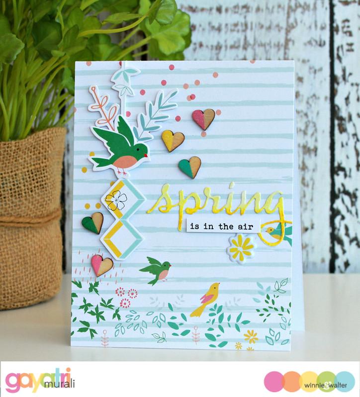 Spring card #2
