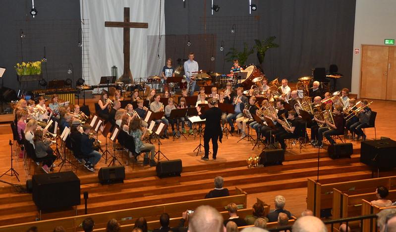 Framåt Brassbandet - Dirigent Inka Glänneskog