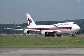 """Thai Airways International Boeing 747-4D7 HS-TGL """"Theparat"""""""