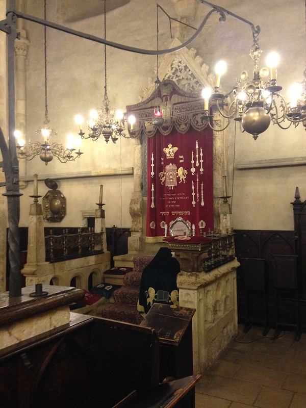 Inside the Old New Synagogue/Altneuschul