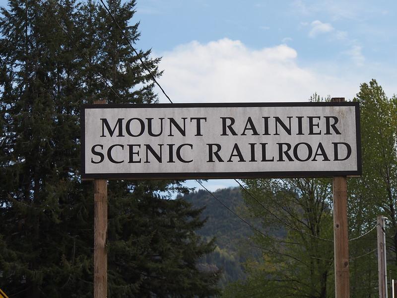 Mount Rainier Scenic Railroad: Not currently operation season.