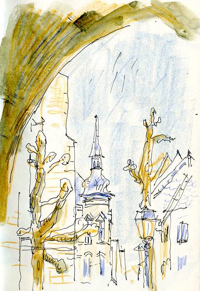 Sketchcrawl du 23 avril — Colmar