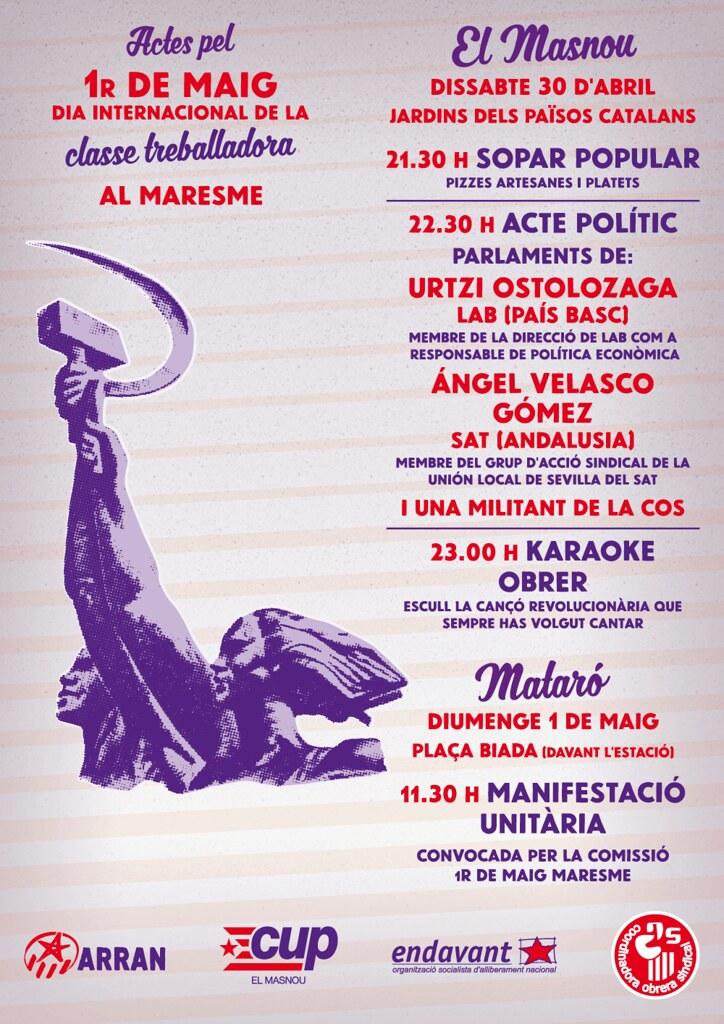 XARXA-cartell-1r-maig-2016-COS-Maresme