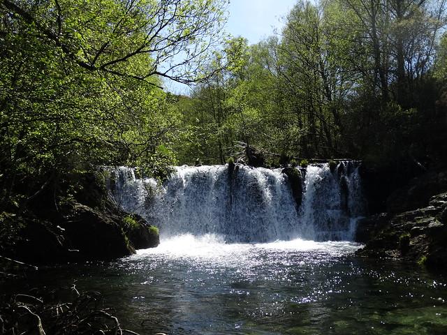 Cascada de O Pantano en A Trigueira