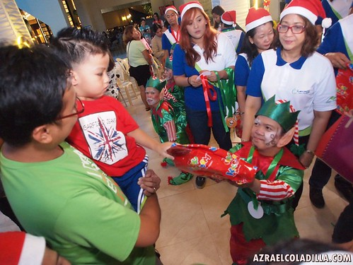 Lancaster New City Cavite and Christmas gift giving to 600 home owners