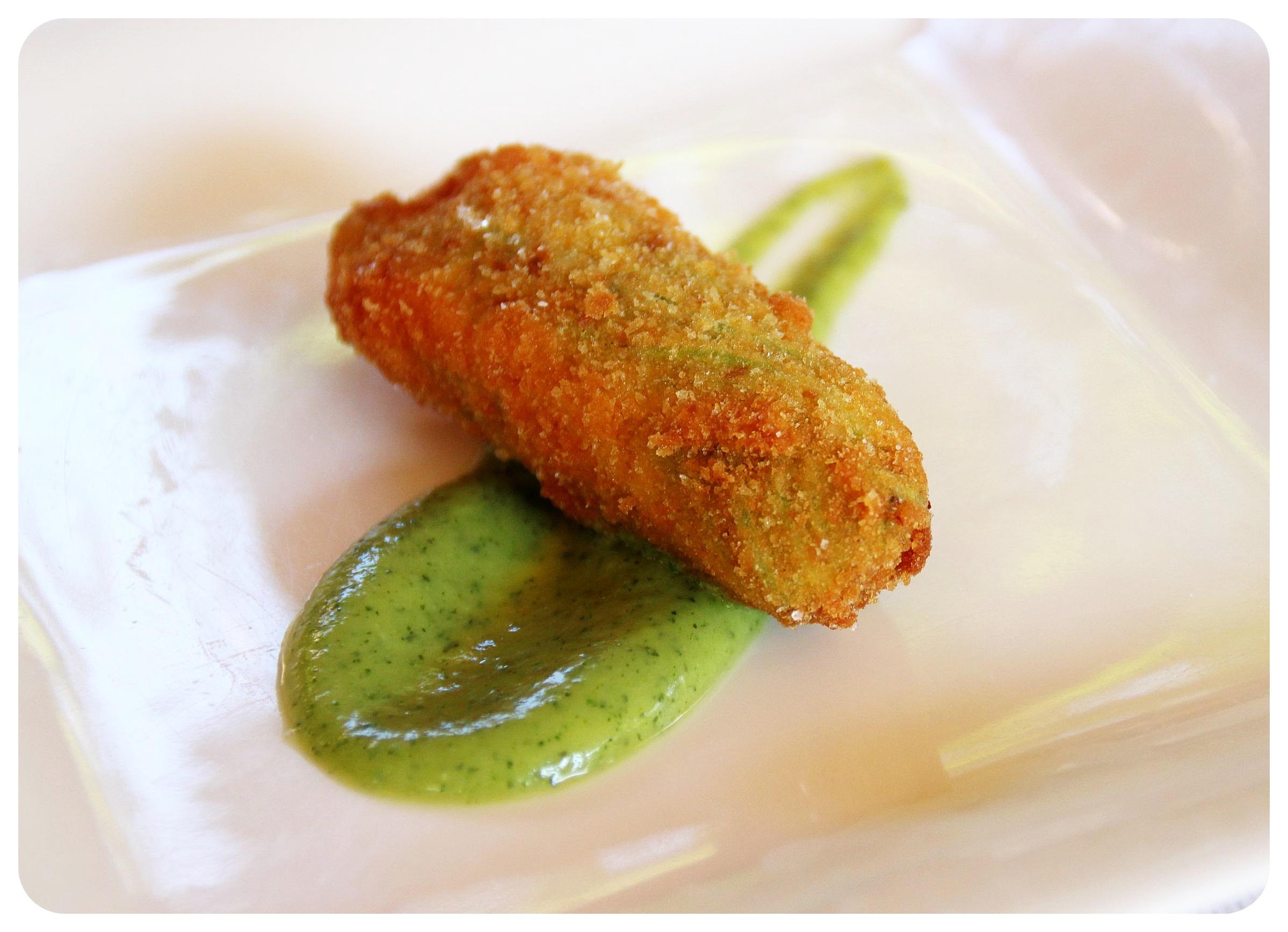 italian food zuccini starter