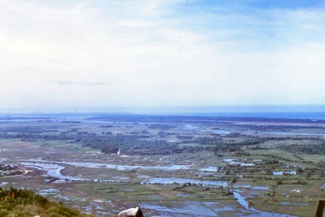 DUC PHO 1969-70 by John Davidson - Đức Phổ District View From Núi Dàng Mountain