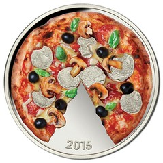 2015 Solomon Islands Pizza coin reverse