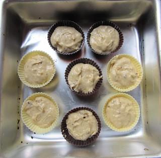 Orange date muffins - step 5