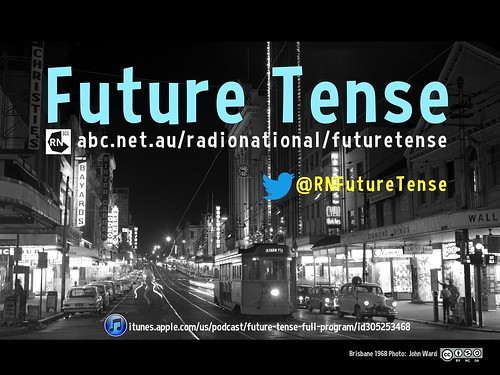 The future is back! Future Tense FanArt @RNFutureTense @awrd @RadioNational