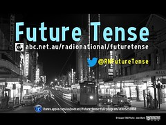 The future is back!  Future Tense FanArt @RNFutureTense @awrd @RadioNational