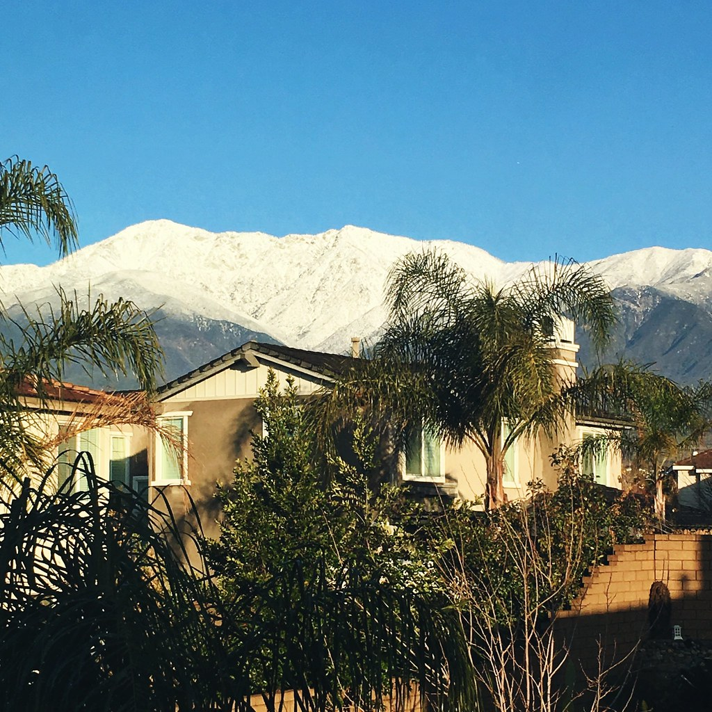 Snow-capped-mountain