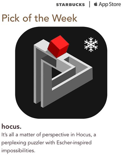 Starbucks iTunes Pick of the Week - Hocus