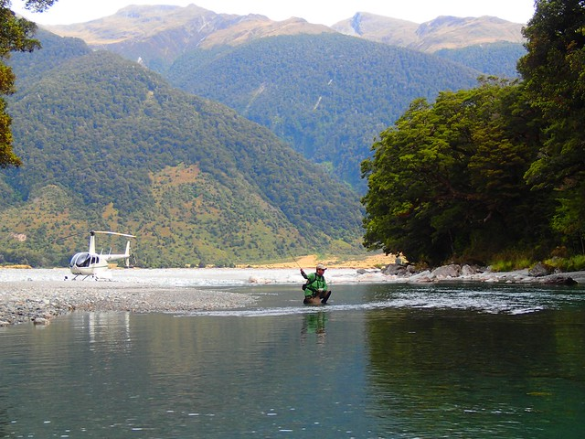 cedar lodge new zealand all inclusive helicopter fly fishing