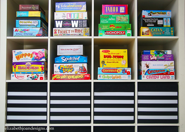 Playroom Drona Storage Makeover