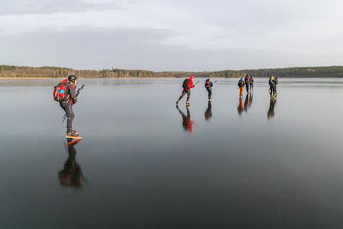 winter ice nature sweden skating skate sverige 2016 södermanland långfärdsskridsko stjärnhov