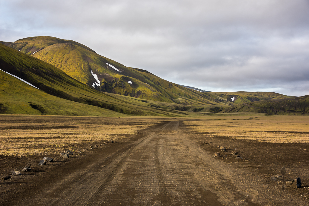 out of landmannalaugar