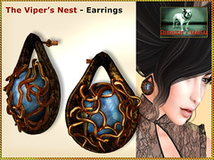 Bliensen - Viper's Nest - earrings Kopie