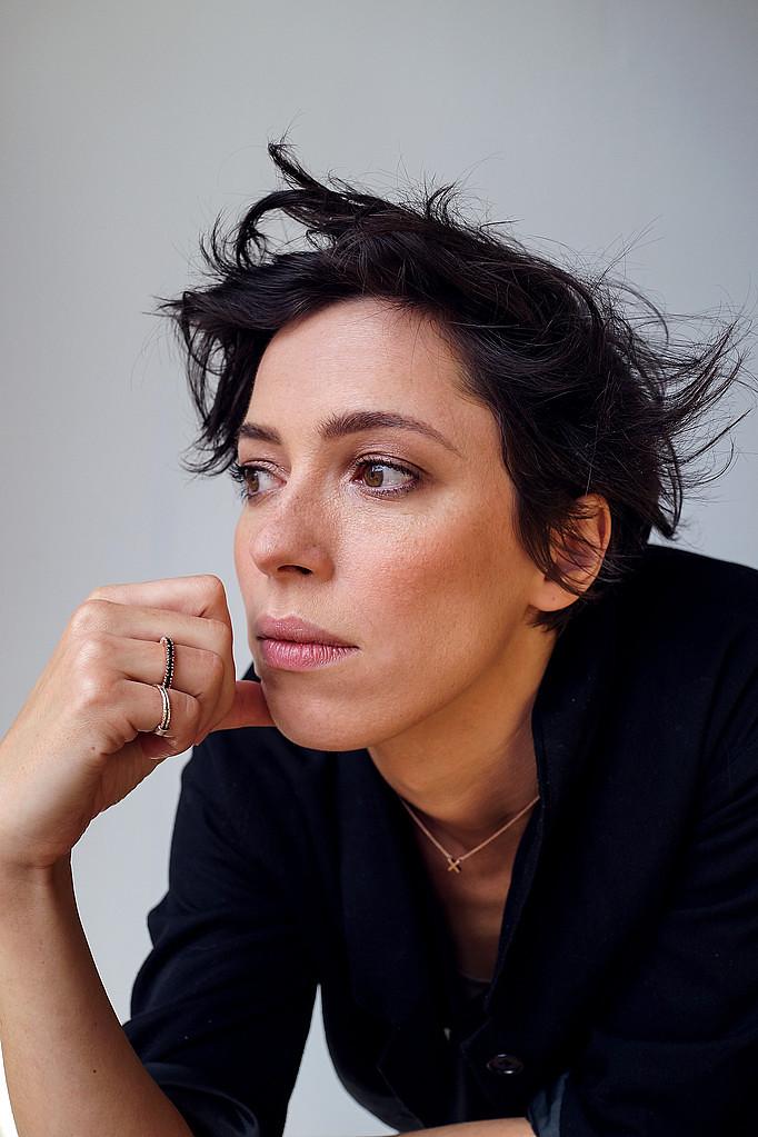 Ребекка Холл — Фотосессия для «Tumbledown» на «Tribeca» 2015 – 35