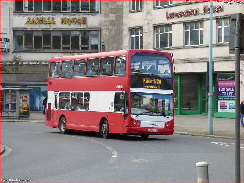 Plymouth Citybus 407 PN02XCM