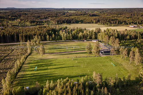 sverige swe västragötaland flygfoto idrottsplats blidsberg