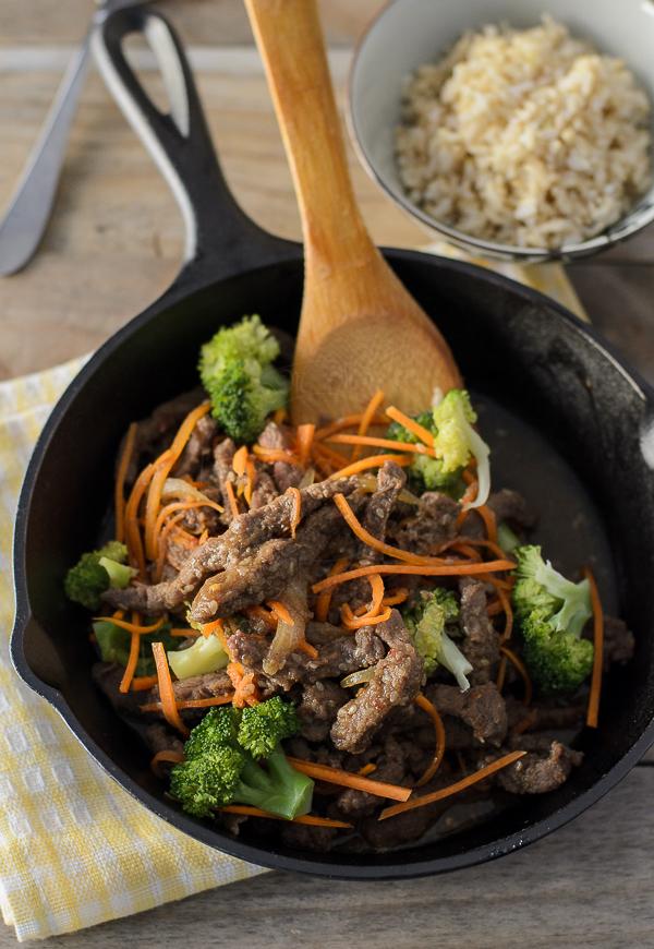 Bulgogi Beef Stir Fry