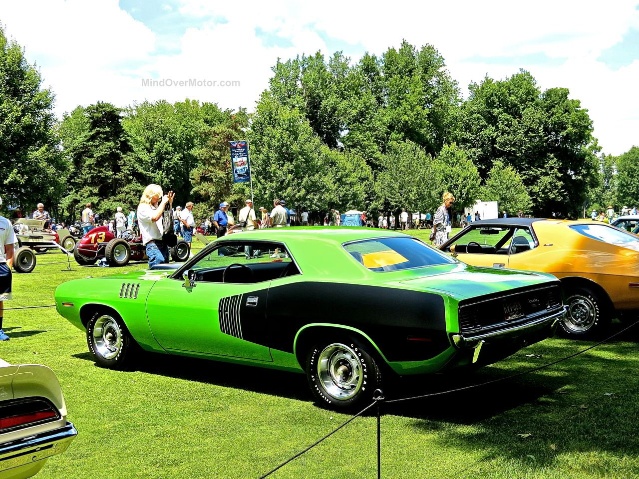 1971 Plymouth Hemicuda Concours of America 5
