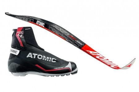 Atomic Redster Carbon Classic - nové lyže pro běžkařské profíky
