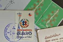 Santiago - Postage marks
