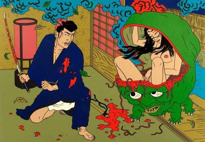 日本病態暴力美學教父—佐伯俊男的情色烏托邦13