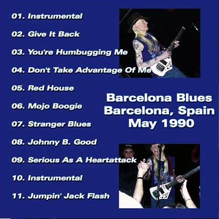 Johnny Winter Barcelona Blues
