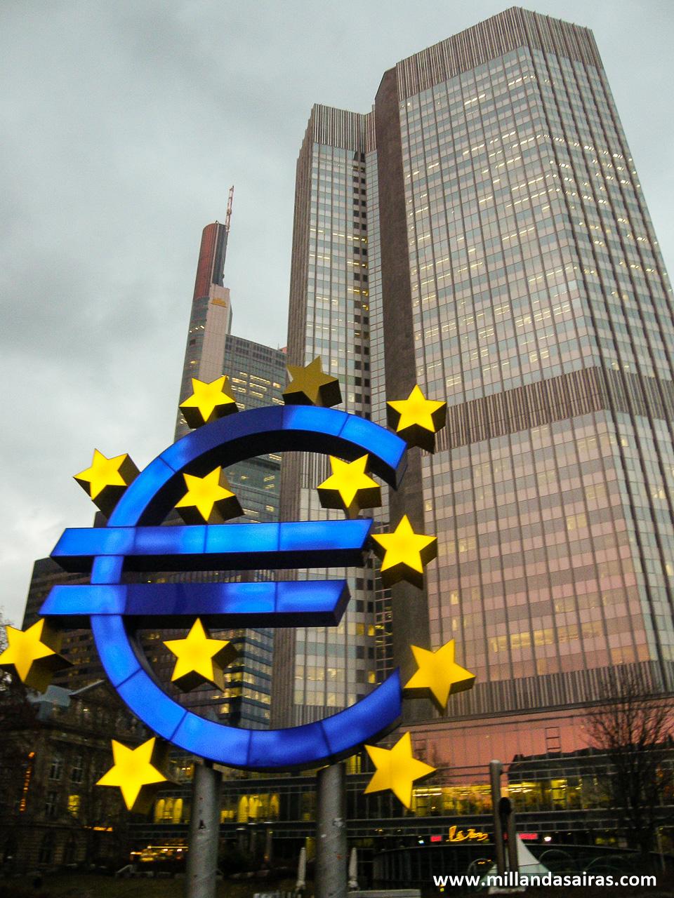 Eurotower, la meca de la economía europea