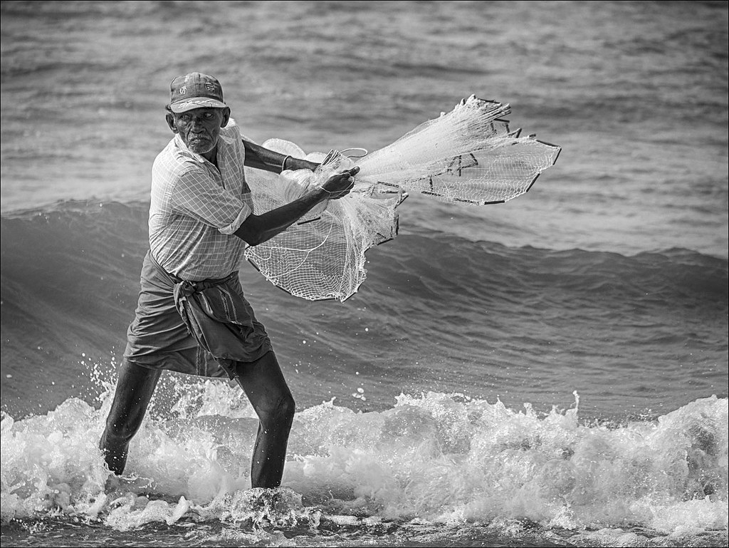 Peopla in India: Fisherman