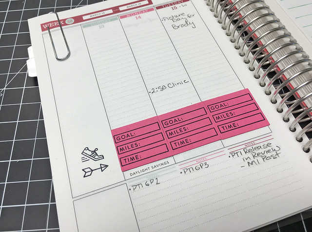 Moments Inked Planner System March 2016